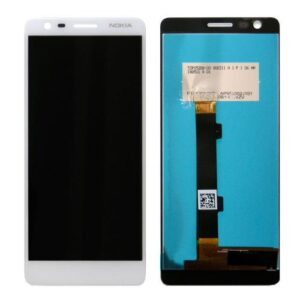 LCD with Touch Screen Nokia 3.1 White (OEM)