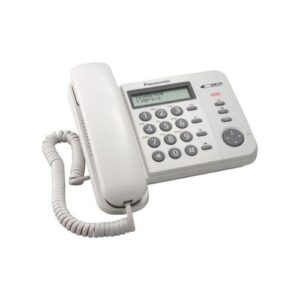 Land Line Phone Panasonic KX-TS580EXW White