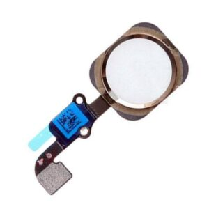 Home Button Flex Cable with External Home Button Apple iPhone 6/ iPhone 6 Plus Gold (OEM)