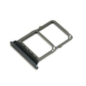 Sim & SD Card Holder Huawei Mate 20 Black (OEM)