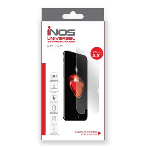 Tempered Glass Universal inos 0.33mm for LCD 5.5'' (142.64 x 72.08mm)