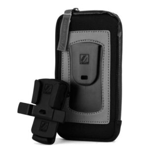 """ClickGo Strap Belt Clip Case Apple iPhone 6/ iPhone 6S & Similar Sized Phones (up to 5.7"""")"""