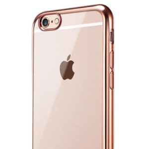 TPU inos Apple iPhone 6/ iPhone 6S Electroplate Ultra Slim 0.3mm Rose-Gold