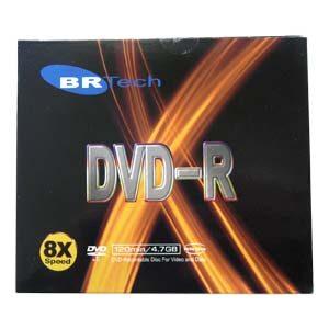 DVD-R 4.7GB Capacity (10 pcs.)