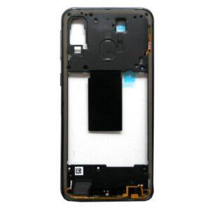 Middle Plate Samsung A405F Galaxy A40 Black (Original)