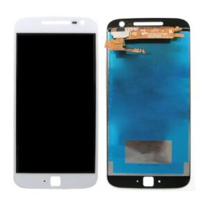 LCD with Touch Screen Lenovo Moto G4 Plus White (OEM)