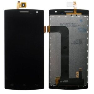 LCD with Touch Screen Doogee DG580 Kissme Black (OEM)