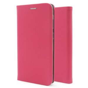 Flip Book Case inos Xiaomi Redmi Note 8/ Redmi Note 8 2021 Curved S-Folio Fuchsia