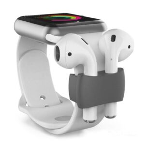 Holder AhaStyle PT75 Apple Airpods for Watch Straps Grey (2 pcs)