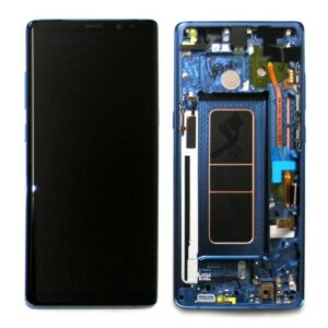 LCD with Touch Screen  & Front Cover Samsung N950F Galaxy Note 8 Blue (Original)