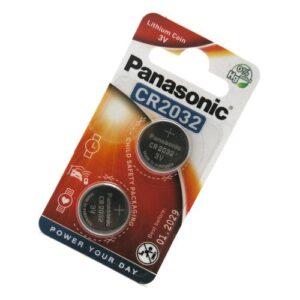 Lithium Button Cells Panasonic CR2032 (2 pcs)