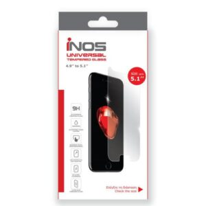 Tempered Glass Universal inos 0.33mm for LCD 5.1'' (134.76 x 66.21mm)