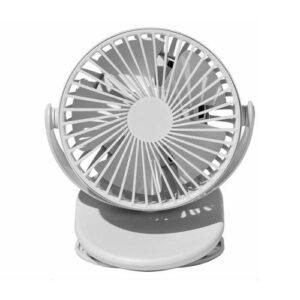 Desktop Fan Solove F3 Mini Clip Light Grey