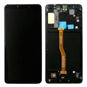 LCD with Touch Screen & Front Cover Samsung A920F Galaxy A9 (2018) Black (Original)