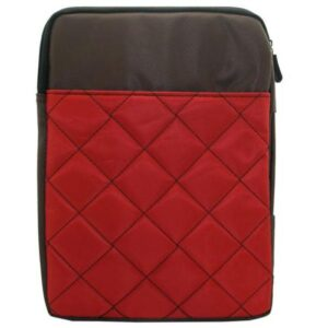 Bag Tablet Case 7''-10.1'' Quilted Red- Brown (Bulk)