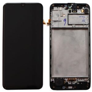 LCD with Touch Screen & Front Cover Samsung M215F Galaxy M21 Black (Original)