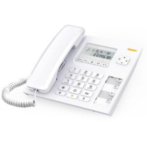 Land Line Phone Alcatel Temporis 56 White