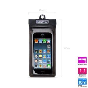 Waterproof Case Dripro Apple iPhone 5/5S & Similar Sized Phones (3.5''-4.7'')