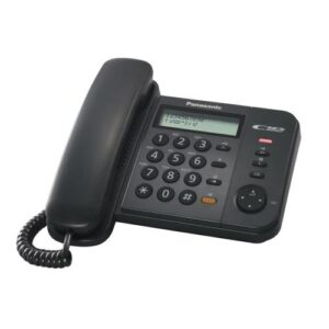 Land Line Phone Panasonic KX-TS580EX2B Black