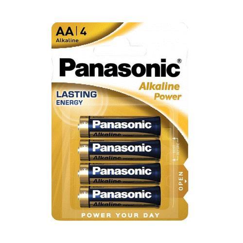 Battery Alkaline Power Panasonic AA LR06 (4 pcs.)