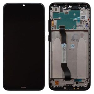 LCD with Middle Plate Xiaomi Redmi Note 8 Space Black (Original)