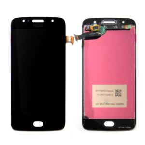 LCD with Touch Screen Motorola Moto G5s Black (OEM)