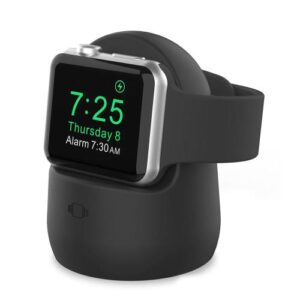 Charging Holder AhaStyle PT63 Apple iWatch Silicon Black