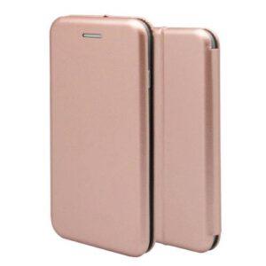 Flip Book Case inos Apple iPhone XS Max Curved M-Folio Rose-Gold