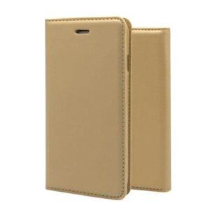 Flip Book Case inos Samsung A605F Galaxy A6 Plus (2018) A-Folio Gold