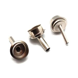 Set Rework Station/ Hot Air Gun Angled Nozzles for Use Under Microscope (3 pcs)