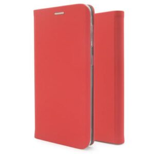 Flip Book Case inos Apple iPhone XR Curved S-Folio Red