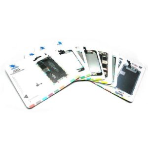 Set Silicone Magnetic Project Mats for Apple Devices (7 pcs)