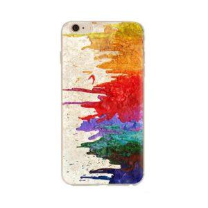 TPU inos Apple iPhone 6/ iPhone 6S Art Theme Watercolor