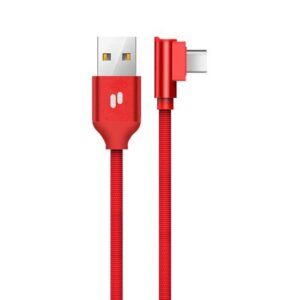 USB 2.0 Cable Puridea L23 USB A to USB C 2.4A 1m Red