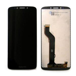 LCD with Touch Screen Motorola Moto E5 Plus Black (OEM)