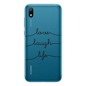TPU inos Huawei Y5 (2019)/ Honor 8S/ Honor 8S (2020) Art Theme Love-Laugh-Life
