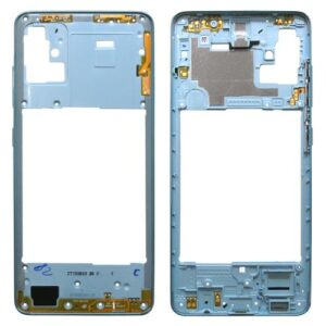 Middle Plate Samsung A515F Galaxy A51 Blue (Original)