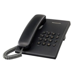 Land Line Panasonic KX-TS500FXB Black