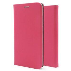 Flip Book Case inos Xiaomi Redmi Note 9 Curved S-Folio Fuchsia