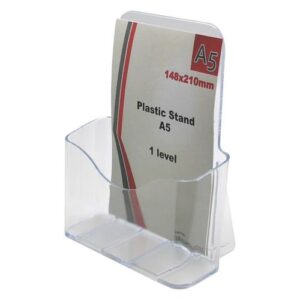 Plastic Stand A5 1 level