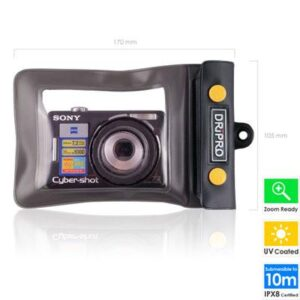 Waterproof Case Dripro for Compact Digital Cameras Dimensions up to 110x65mm