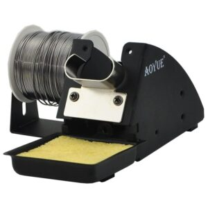 Aoyue 2665 Support Clamps Soldering Iron with Roll Holder