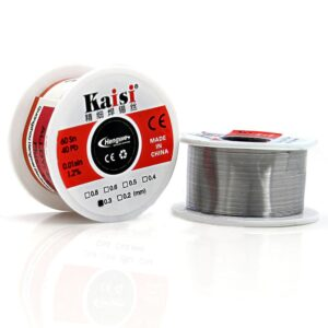 Soldering Kaisi 0.3mm 60 Sn 40 Pb 0.01sin Flux 1.2%
