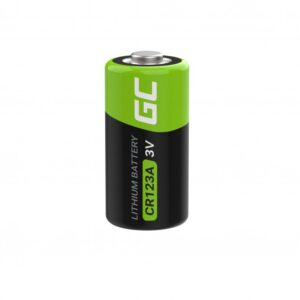 Battery Lithium Green Cell XCR02 CR123A 3V 1400mAh Τεμ. 1