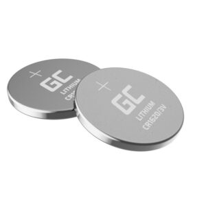 Buttoncell Lithium  Green Cell XCR03 CR1620 Hologram Pcs. 5 with Perferated Packaging