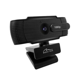USB Webcam Media-Tech Look V Privacy MT4107 Full HD 1920x1080 Black with Microphone
