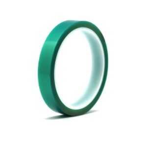 MID Temperature Resistant (150° MAX) Isolation Tape 15mm Green