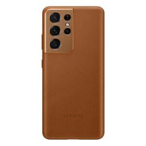 Leather Cover Samsung EF-VG998LAEG G998B Galaxy S21 Ultra 5G Brown