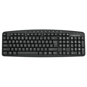 Multimedia Wired Keyboard Noozy SK-10 USB with Greek Layout and 9 Shortcut Keys