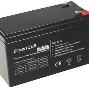 Battery for UPS Green Cell AGM06 AGM (12V 9Ah) 2.5 kg 151mm x 65mm x 94mm